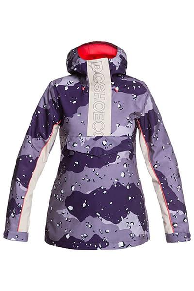 Фиолетовый женский сноубордический анорак envy