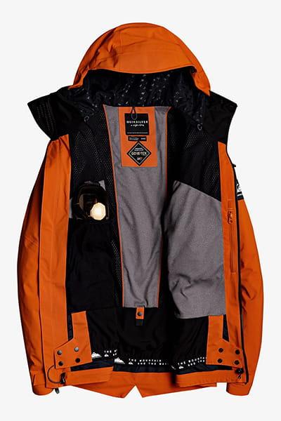 Муж./Сноуборд/Куртки для сноуборда/Куртки для сноуборда Мужская сноубордическая куртка Black Alder 2L GORE-TEX®