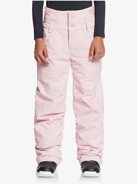 Розовый детские сноубордические штаны diversion 8-16