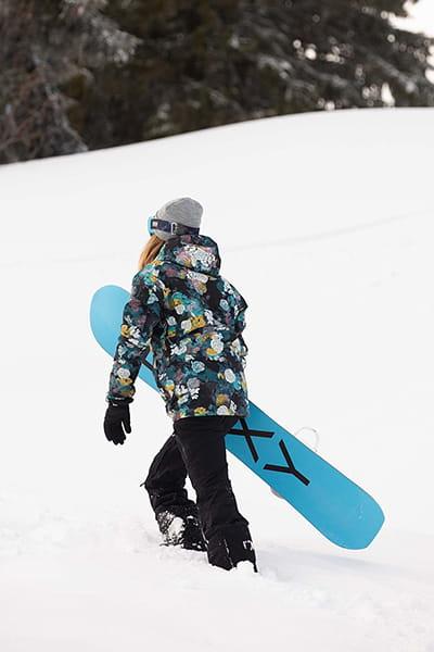 Жен./Одежда/Куртки/Куртки для сноуборда Женская сноубордическая куртка GORE-TEX® Stretch Haze