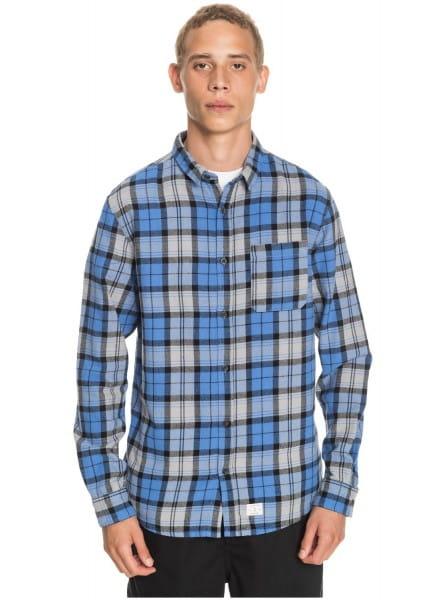 Муж./Одежда/Рубашки/Рубашки с длинным рукавом Рубашка QUIKSILVER Theplaidflannel Blue Yonder Plaid