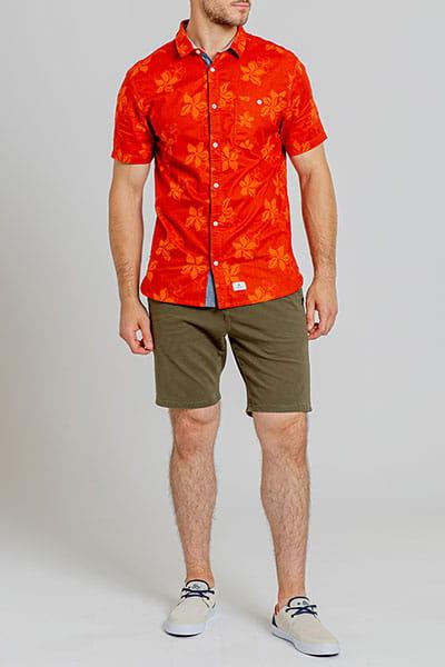 Муж./Одежда/Рубашки/Рубашки с коротким рукавом Мужская рубашка с коротким рукавом Le Grand Large