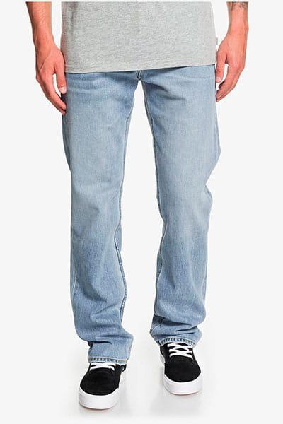 Зеленые мужские классические джинсы sequel salt water
