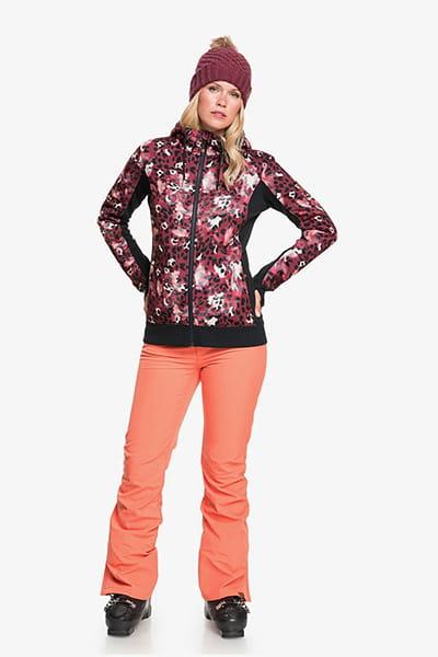 Жен./Одежда/Толстовки и флис/Флисовые толстовки Женская флисовая толстовка на молнии Frost Printed