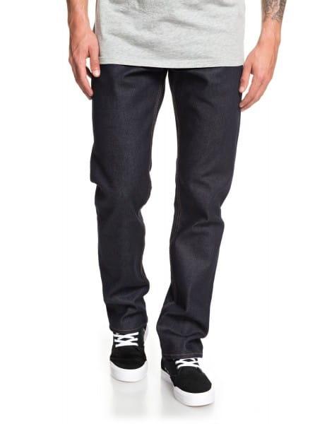 Зеленые мужские прямые джинсы revolver rinse