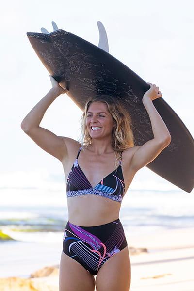 Черный женский лиф pop surf