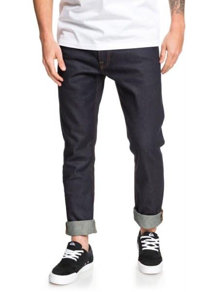 Зеленый мужские узкие джинсы distorsion rinse