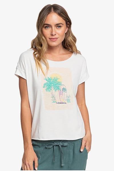 Персиковый женская футболка sweet summer night b