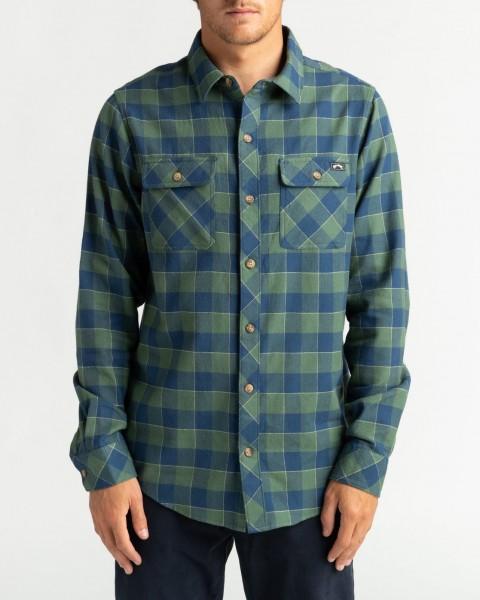 Рубашки с длинным рукавом U1SH10-BIF0 Forest