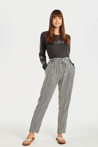 Широкие брюки N3PT08-BIP9 Black/White