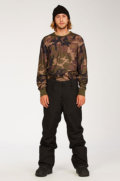 Штаны для сноуборда U6PM25-BIF0 Black