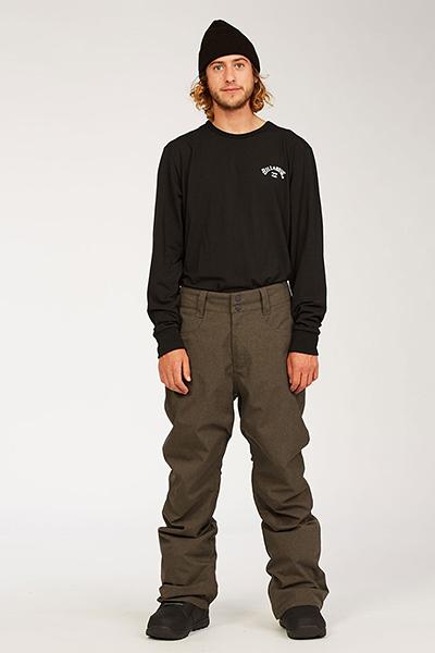 Штаны для сноуборда U6PM25-BIF0 Grey Heather
