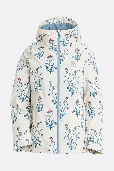 Зимние куртки U6JF29-BIF0 White Floral