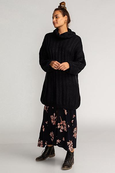 Платье U3DR07-BIF0 Black