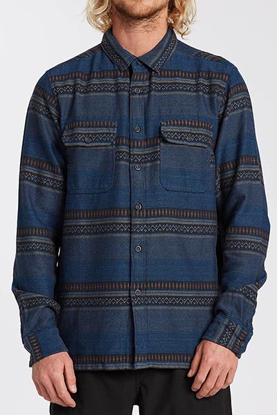Рубашка U1SH13-BIF0 Denim Blue