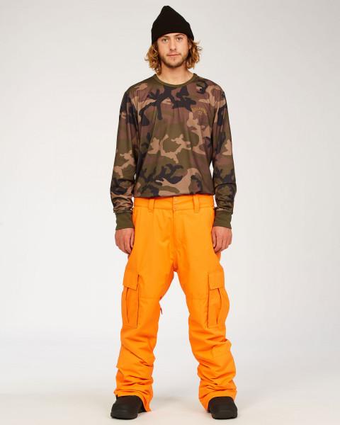 Штаны для сноуборда U6PM24-BIF0 Bright Orange