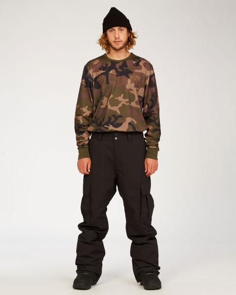 Штаны для сноуборда U6PM24-BIF0 Black
