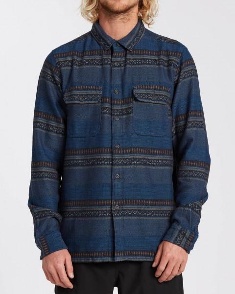 Рубашки с длинным рукавом U1SH13-BIF0 Denim Blue