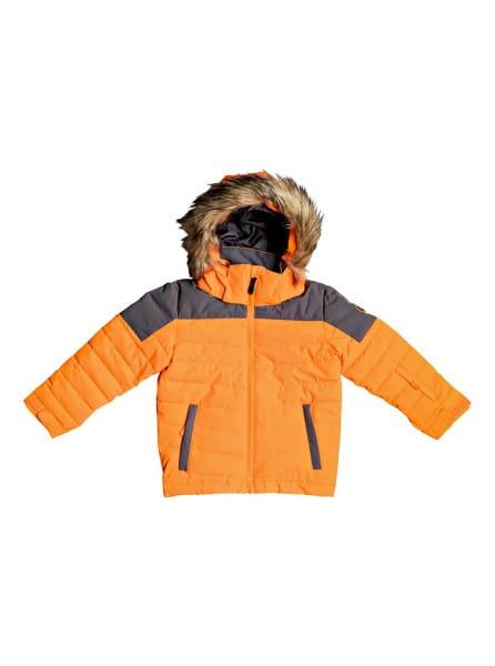 Коричневый детская сноубордическая куртка edgy kids 2-7