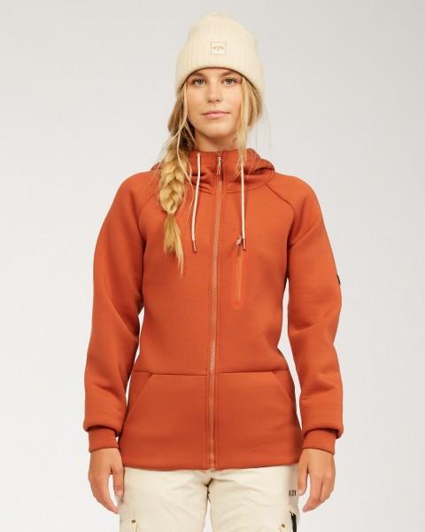 Жен./Сноуборд/Термобелье/Термо-кофты Женская сноубордическая толстовка Adventure Division Freezing Fog