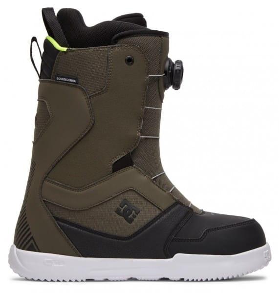 Белые мужские сноубордические ботинки scout