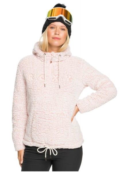 Жен./Одежда/Толстовки и флис/Флисовые толстовки Женское флисовое худи Pluma Sherpa