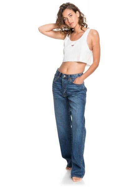 Жен./Одежда/Джинсы и брюки/Джинсы широкие и расклешенные Женские джинсы с высокой талией Hazey Daze