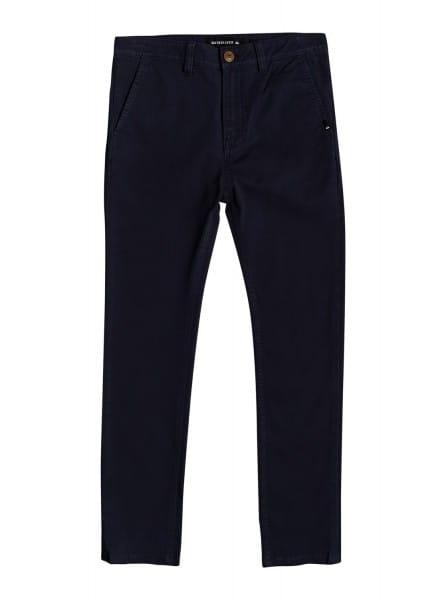 Мал./Мальчикам/Одежда/Джинсы и брюки Детские узкие брюки-чинос Krandy 8-16