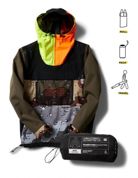 Муж./Одежда/Верхняя одежда/Анораки сноубордические Мужской сноубордический анорак ASAP