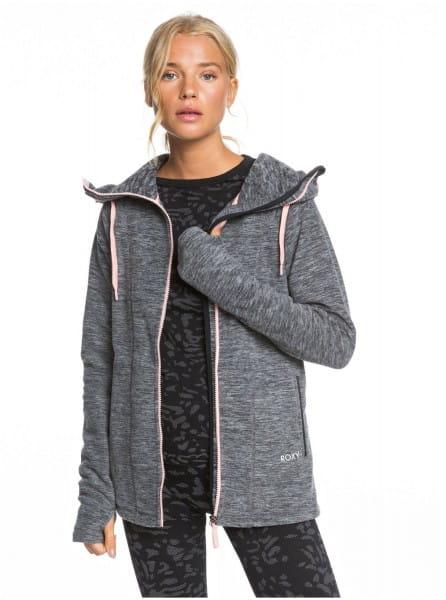 Жен./Одежда/Толстовки и флис/Флисовые толстовки Женская флисовая толстовка на молнии Electric Feeling