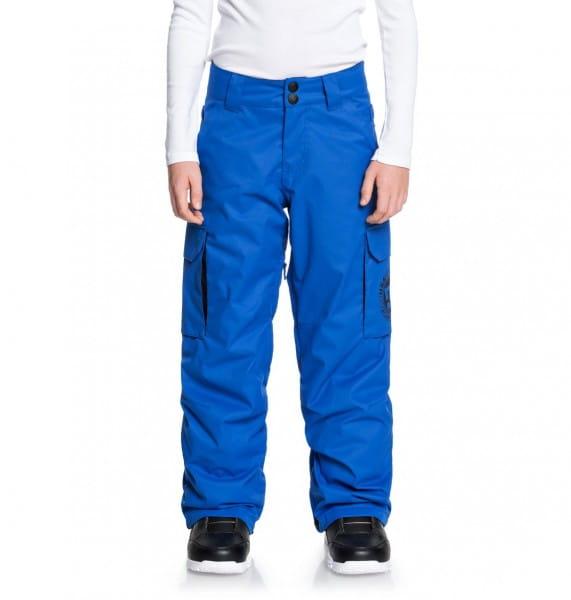 Коричневый детские сноубордические штаны banshee 8-16