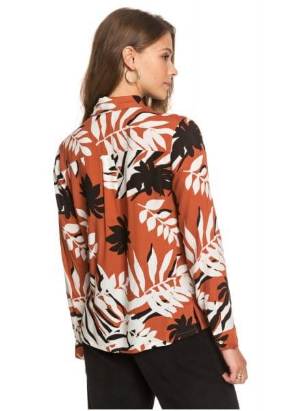Жен./Одежда/Блузы и рубашки/Рубашки с длинным рукавом Женская рубашка с длинным рукавом White Shadow