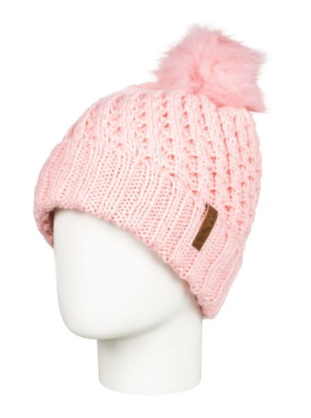 Розовые детская шапка с помпоном blizzard
