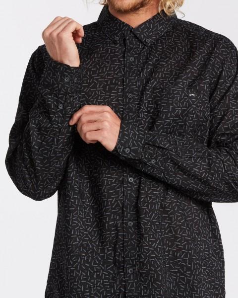 Муж./Одежда/Рубашки/Рубашки с длинным рукавом Мужская рубашка с длинным рукавом Sundays Mini
