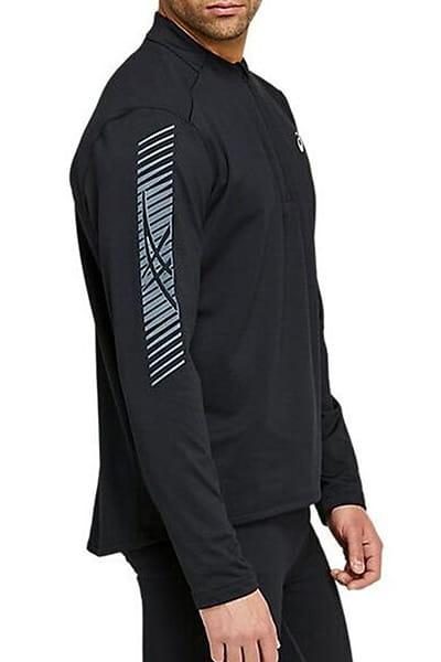 Муж./Фитнес и бег/Одежда/Спортивные футболки и лонгсливы Футболка с длинным рукавом Asics ICON LS 1/2 WINTER ZIP