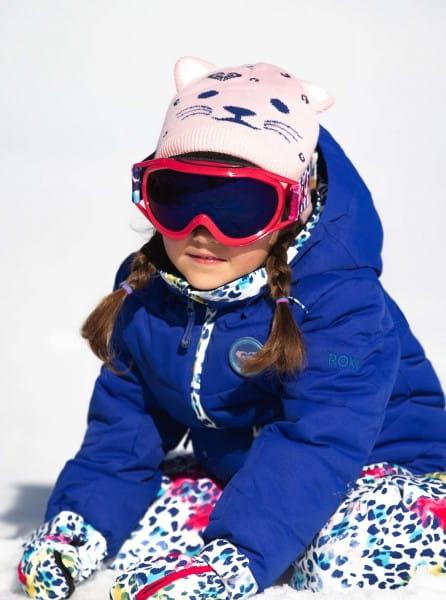 Розовые детская шапка leo