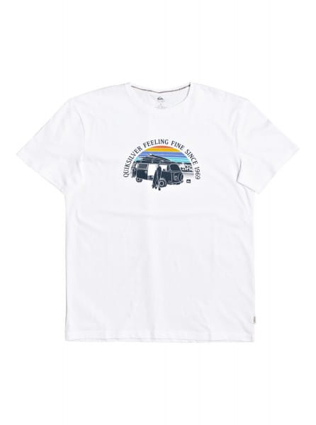 Коричневый мужская футболка come sail away