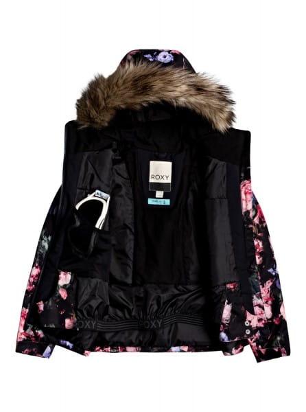 Коричневый детская сноубордическая куртка jet ski 8-16