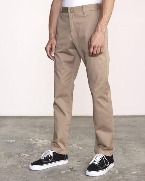 Зеленые мужские брюки the weekend stretch
