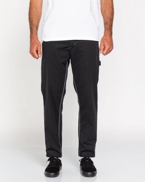 Голубые укороченные мужские брюки highwater work
