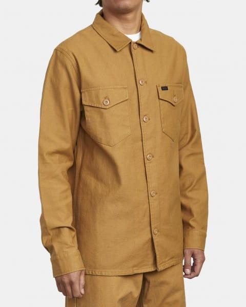 Муж./Одежда/Рубашки/Рубашки с длинным рукавом Плотная мужская рубашка Fubar