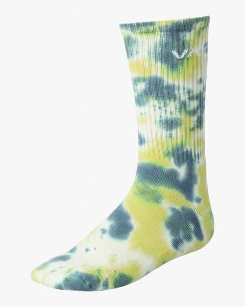 Муж./Аксессуары/Носки/Носки Мужские средние носки Tie Dye