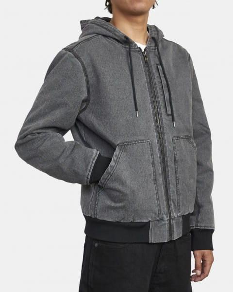 Муж./Одежда/Верхняя одежда/Бомберы Мужская куртка-бомбер Hooded Canvas