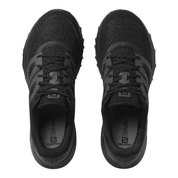 Муж./Туризм/Обувь/Трекинговые ботинки Кроссовки Salomon SHOES TRAILSTER 2 Black/Black/Magnet