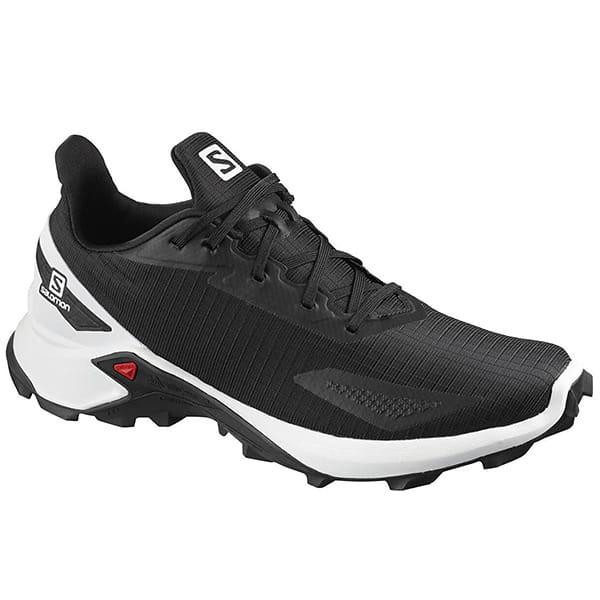 Муж./Туризм/Обувь/Трекинговые ботинки Кроссовки Salomon ALPHACROSS BLAST Black/White/Black