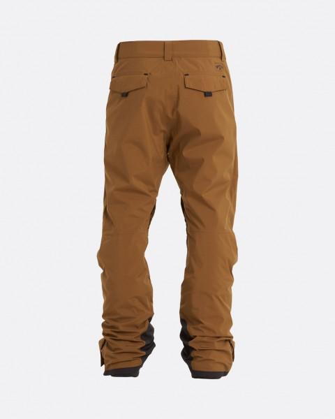 Муж./Сноуборд/Штаны для сноуборда/Штаны для сноуборда Мужские сноубордические штаны Adventure Division Compass