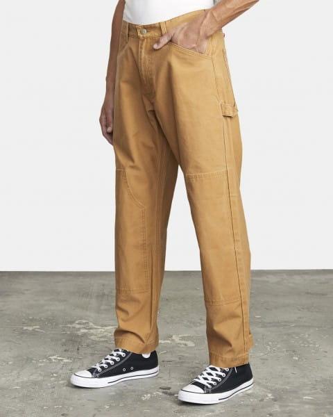 Муж./Одежда/Джинсы и брюки/Широкие брюки Свободные мужские брюки Chainmail