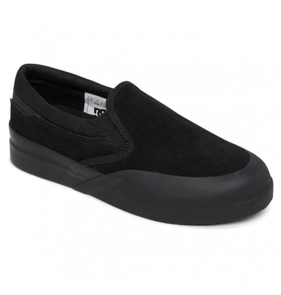 Мал./Обувь/Обувь/Слипоны Детские кожаные слипоны DC Infinite