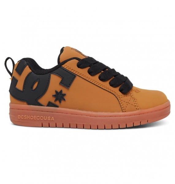 Мал./Обувь/Обувь/Кеды Детские кожаные кеды Court Graffik