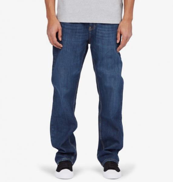 Бежевые мужские свободные джинсы worker relaxed